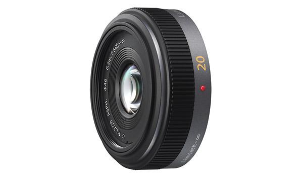Panasonic LUMIX G 20mm/F1.7 ASPH Pancake Lens