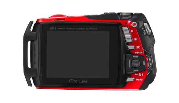 Casio Exilim EX-G1 digital camera rear LCD