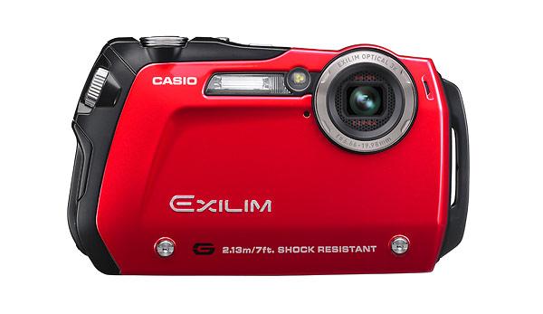 Casio Exilim EX-G1 waterproof and shockproof digital camera
