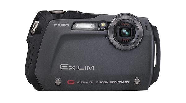 Casio Exilim EX-G1 digital camera - black
