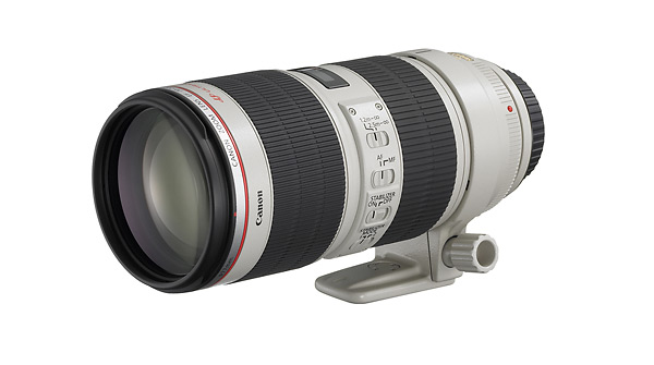 Canon EF 70-200mm f/2.8L IS II Professional Zoom Lens
