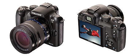 Samsung NX10 Compact Changeable Lens System Camera