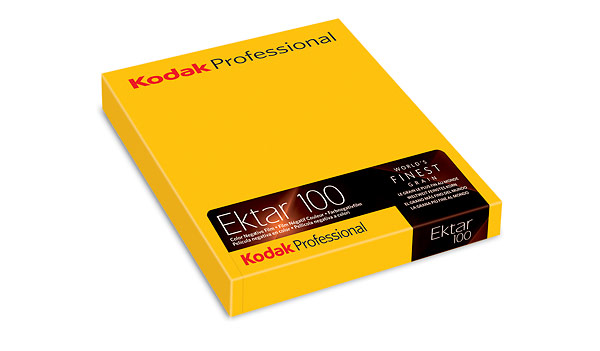 Kodak Ektar 100 large format sheet film