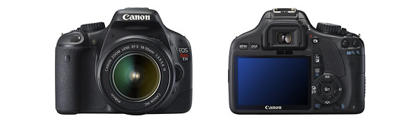 Canon EOS Rebel T2i - Front & Back