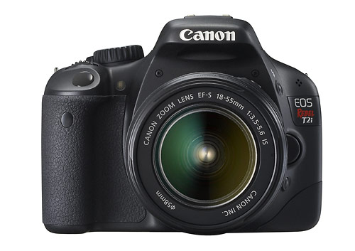 Canon EOS Rebel T2i - Front