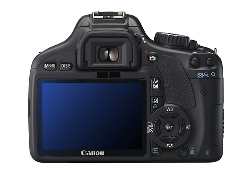 Canon EOS Rebel T2i - Rear LCD