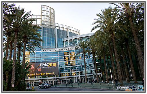 Anaheim Convention Center - 2010 PMA Tradeshow