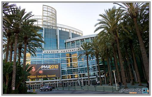 Anaheim Convention Center - 2010 PMA Tradeshow