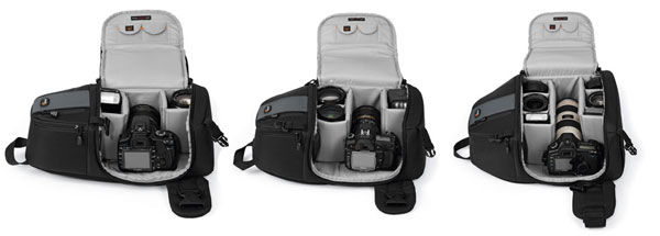 Lowepro SlingShot 102 AW, 202 AW and 302 AW • Camera News and Reviews