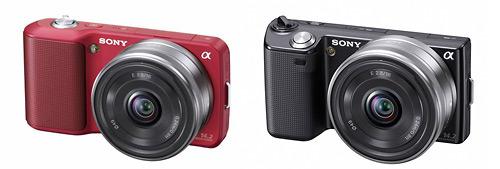 New Sony Alpha Nex Digital Cameras