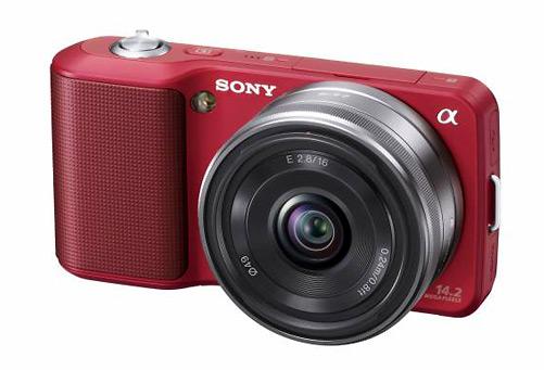 Sony Alpha NEX-3 - Front