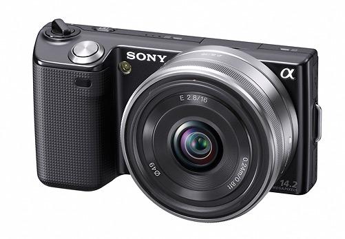Sony Alpha NEX-5 digital camera - Front