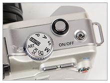 Olympus E-PL1 mode dial