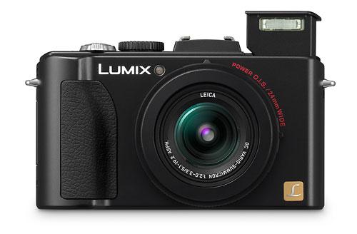 Panasonic Lumix LX5 - pop-up flash
