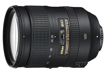 Nikon AF-S 28-300mm f/3.5-5.6 VR 10x superzoom lens
