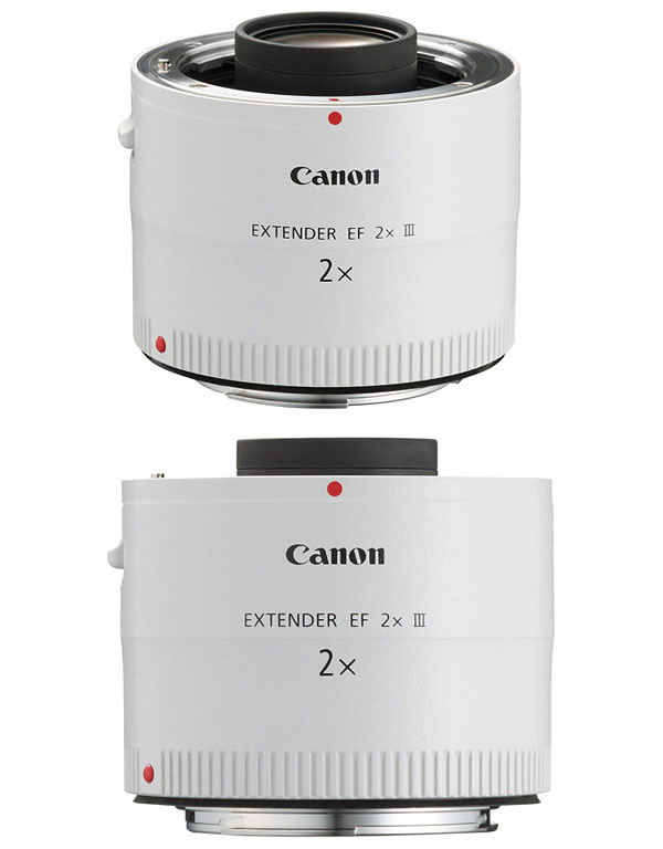 The Canon EF 2x II Extender is an easy and very affordable way to. Extender EF 2xII. Extender EF 1.4 xII . Extend the ability of your telephoto