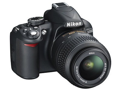 Nikon D3100 digital SLR with 1080p AVCHD video and continuous auto focus in movie mode