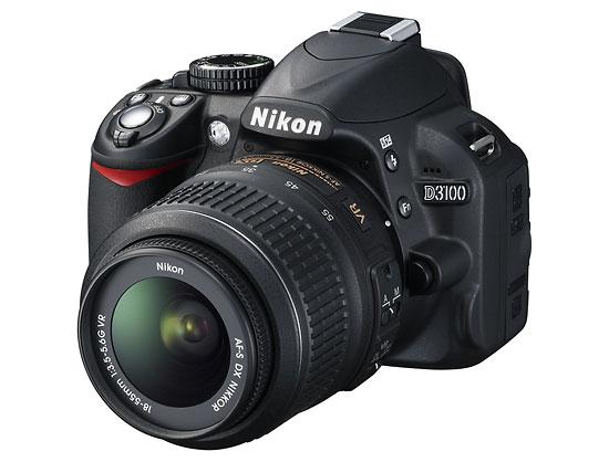 Nikon D3100 digital SLR & AF-S NIKKOR 18-55mm f/3.5-5.6G VR zoom lens