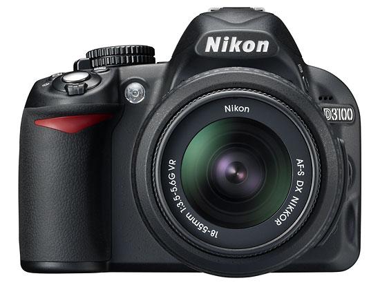 Nikon D3100 HD digital SLR