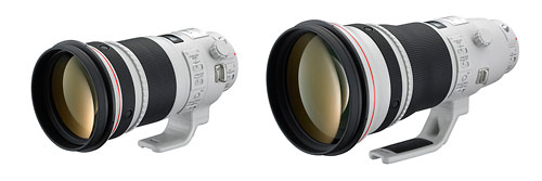 New Canon 300mm f/2.8L IS II & 400mm f/2.8L IS II super-telephoto lenses