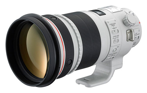 Canon EF 300mm f/2.8L IS II lens