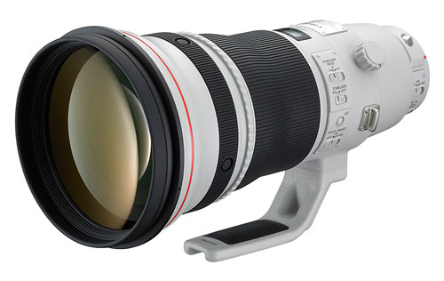 Canon EF 400mm f/2.8L IS II super-telephoto lens