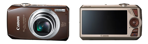 Canon PowerShot SD4500 IS - front & back