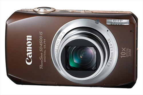 Canon PowerShot SD4500 IS pocket point-and-shoot camera
