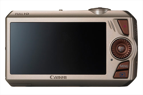 Canon PowerShot SD4500 IS - 3-inch 460k LCD display