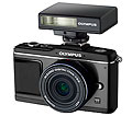 New All Black Olympus E-P2 Pen Camera Kit