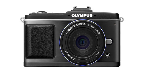 Olympus E-P2 with black 17mm lens