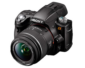 Sony Alpha SLT-A55 single lens translucent mirror camera