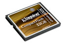 Kingston 32GB Ultimate 600x CompactFlash Memory Card