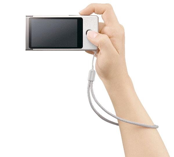Sony Bloggie Touch In Hand