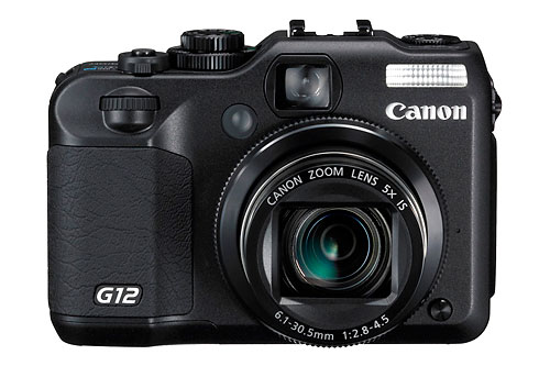 Canon PowerShot G12 high-end compact digital camera - front