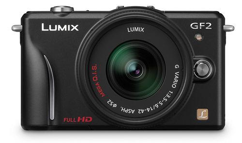 Panasonic Lumix GF2 - front