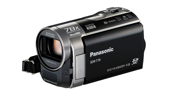 panasonic sdr h100 sdr t70 and sdr s70 camcorders u2022 camera news and rh photographyreview com Panasonic Camcorder Panasonic Camcorder