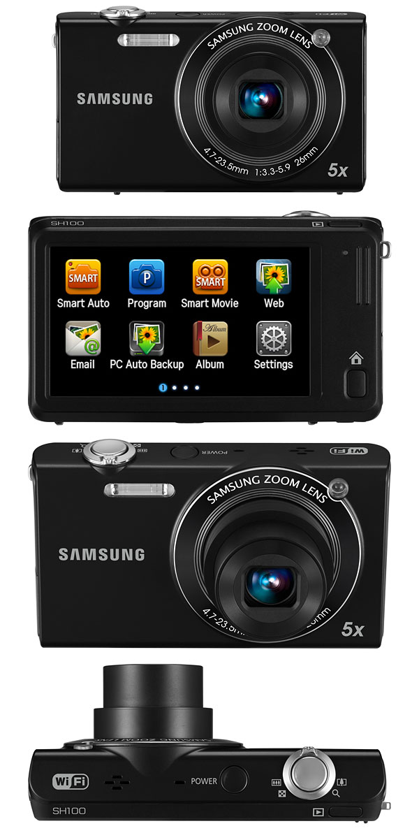 Samsung Sh100 Wi Fi Enabled Digital Camera Camera News