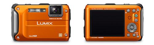 Panasonic Lumix TS3 waterproof and shockproof point-and-shoot camera