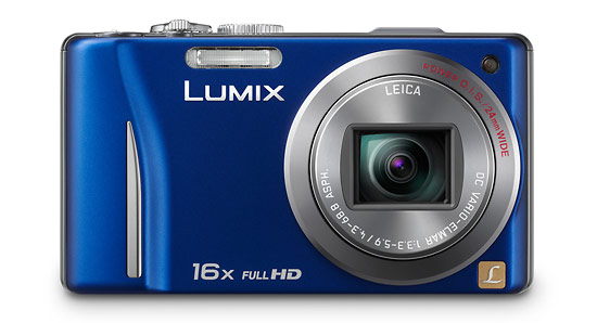 Panasonic Lumix ZS10 - front