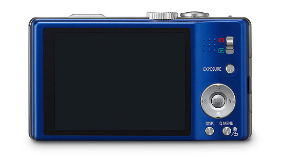Panasonic Lumix ZS10 - rear LCD