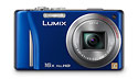 Panasonic Lumix ZS10 Pocket Superzoom Camera - 16x Zoom Lens & Touchscreen Display
