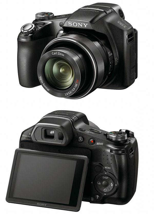 Sony Cybershot DSC-HX100V And DSC-HX9V Digital Cameras