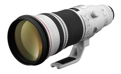 New Canon EF 500mm f/4L IS II super-telephoto prime lens