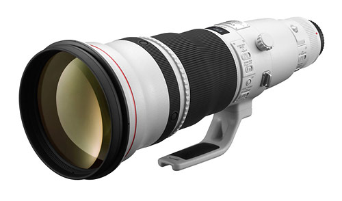 New Canon EF 600mm f/4L IS II super-telephoto lens