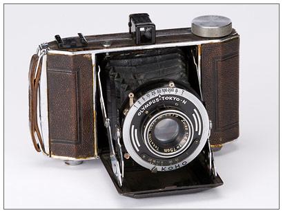 Old School - 1938 Zuiko-equipped Semi-Olympus II folding camera