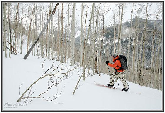 Nikon D7000 - Utah Backcountry Skiing