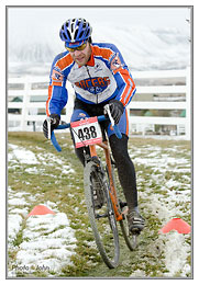 Nikon D7000 - continuous auto focus cyclocross race photo