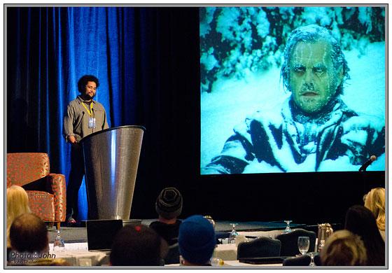 Nikon D7000 - Snowcial presentation at ISO 6400