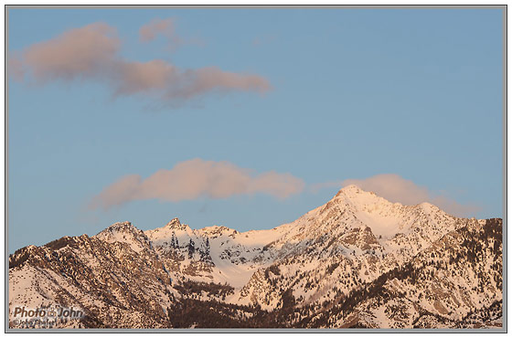 Nikon D7000 - Wasatch Sunset